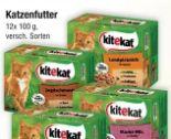 Katzenfutter von Kitekat