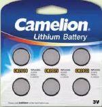 Lithium-Knopfzellenset von Camelion