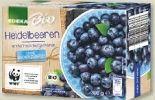 Bio-Heidelbeeren von Edeka Bio