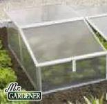 Doppelfrühbeet von Mr. Gardener