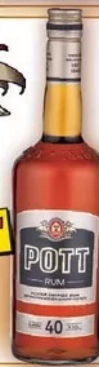Echter Übersee-Rum von Pott