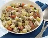 Kartoffel-Schellfisch Pfanne