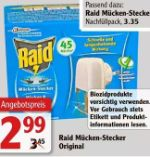 Mücken-Stecker Original von Raid