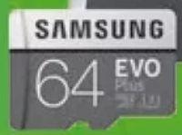 microSDXC Card EVO+ Plus Speicherkarte von Samsung
