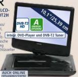 """Portabler 10,1""""-LCD-TV/DVD MT-1080T2H von Denver"""