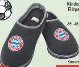 FC Bayern Filzpantoffeln