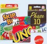 Kartenspiele von Mattel Games
