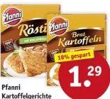 Kartoffelgerichte von Pfanni