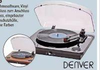 Plattenspieler VPL-200WOOD von Denver