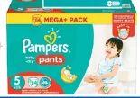 Baby Dry Windeln Megapack von Pampers