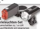LED-Batterieleuchten-Set von Prophete