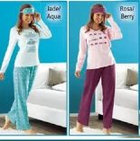 Damen Pyjama-Set von ElleNor