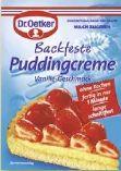 Backfeste Puddingcreme von Dr. Oetker