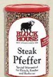 Steak-Pfeffer von Block House