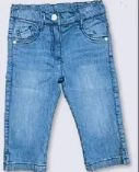 Mädchen Capri-Jeans
