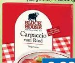 Carpaccio vom Rind von Block House