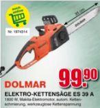 Elektro-kettensäge ES 39 A von Dolmar