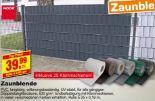 Zaunblende PVC von Noor Baustoffe
