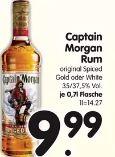 Spiced Rum von Captain Morgan