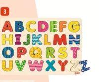 Alphabet Holzpuzzle von Goki