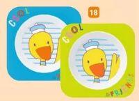 Esslernschale Cool Friends Ente von Rotho