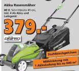 Akku-Rasenmäher von Greenworks