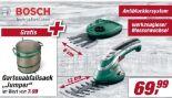 Akku-Gras- und Strauchscherenset Isio von Bosch