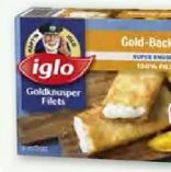 Goldknusperfilet von Iglo