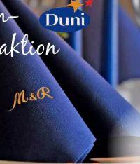 Dunilin-Servietten von Duni