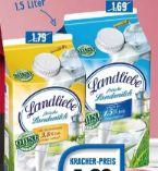 Frische Landmilch von Landliebe