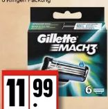 Mach 3 Ersatzklingen von Gillette