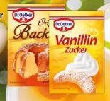 Vanillin Zucker von Dr. Oetker