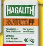 Haftputz von Hagalith