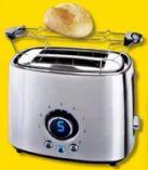 Edelstahl-Toaster von Edeka zuhause