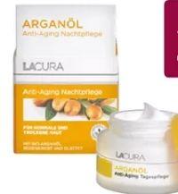 Arganöl Anti-Aging Gesichtspflege von Lacura Naturals