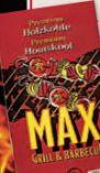 Holzkohlegrillbriketts von Max Grill & Barbecue