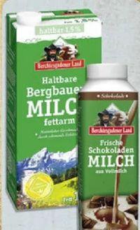 Frische Schokoladenmilch von Berchtesgadener Land
