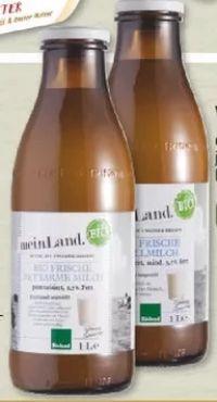 Land Bio Frische Fettarme Milch von Edeka Mein Land