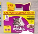 Katzennahrung XXL-Vorteilspack von Whiskas