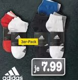 Damen Sneakersocken 3er Pack von Adidas