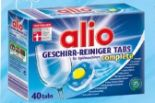 Spülmaschinen-Tabs von Alio