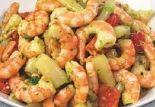 Spargel-Riesen Garnelen-Salat
