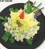 Käse-Lauch-Salat