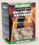 Ökoanzünder Holzwolle von Flamax