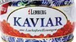 Lachsforellen Kaviar