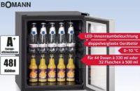 Glastür-Kühlschrank KSG 237 von Bomann