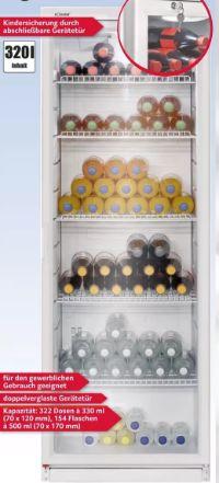 Flaschenkühlschrank KSG 239 von Bomann