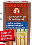 Holzlasur 3in1 von Carboxyl