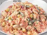 Spargel-Flusskrebs-Salat