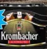 0,0 % Alkoholfrei Pils von Krombacher